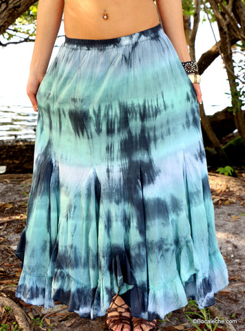 Swim Away Maxi Skirt