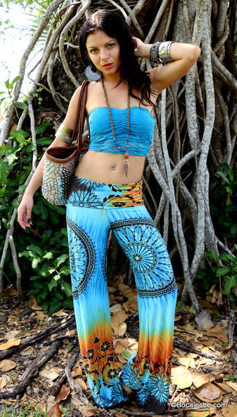 Earth and Water Exuma pants - BOCALECHE - 1