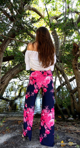 Fearless Floral Exuma Pants - BOCALECHE - 5