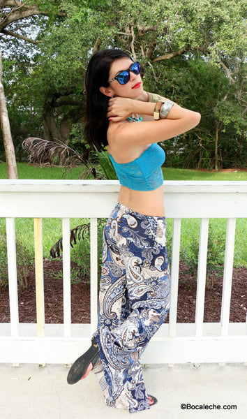 Ocean breeze Exuma pants - BOCALECHE - 1