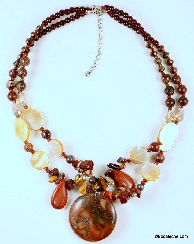 Fabulous Fall Necklace - BOCALECHE