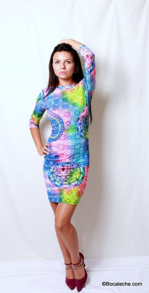Colors around the World Dress - BOCALECHE - 5