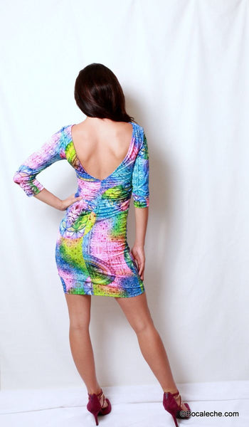 Colors around the World Dress - BOCALECHE - 4