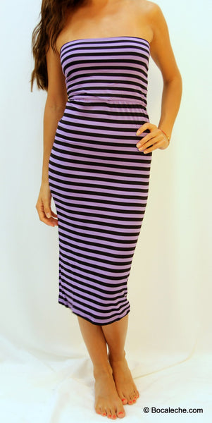 Earned my purple stripes maxi - BOCALECHE - 2