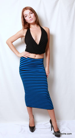 Electric Blue Maxi