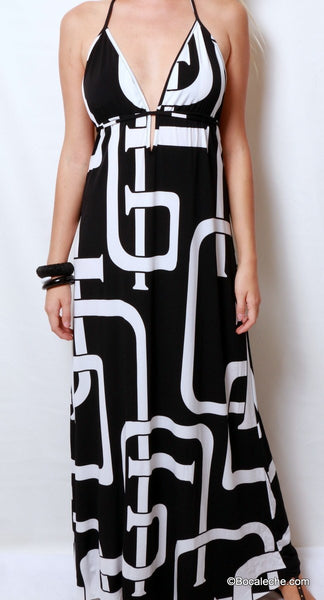 Fabulous & Fierce Maxi Dress - BOCALECHE - 2