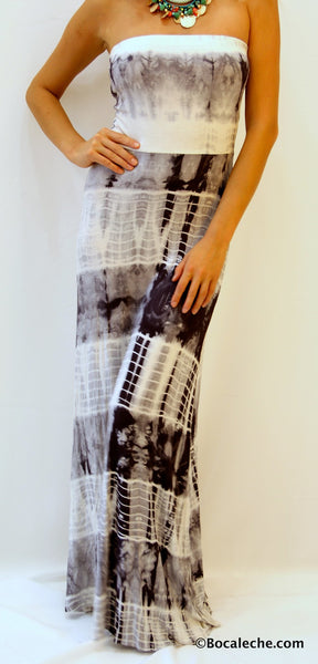Few shades of Gray Maxi - BOCALECHE - 2