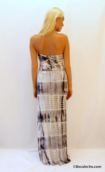 Few shades of Gray Maxi - BOCALECHE - 5