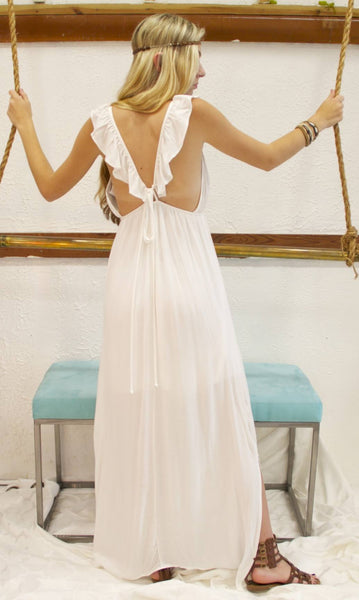 Goddess in Greece dress - BOCALECHE - 5