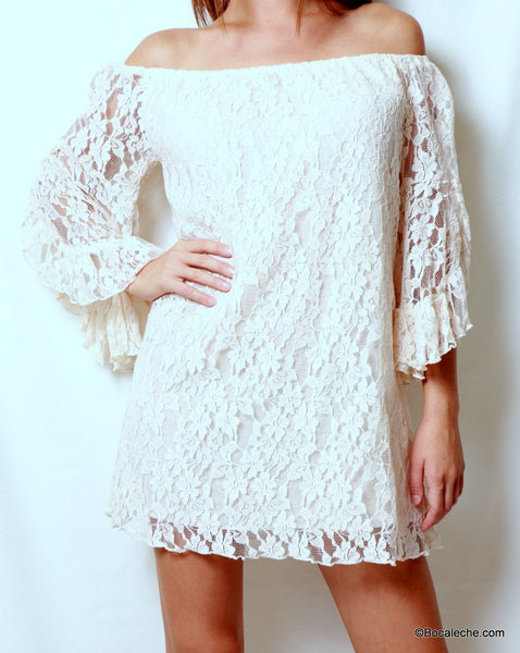 Gorgeous in Lace Dress - BOCALECHE - 2