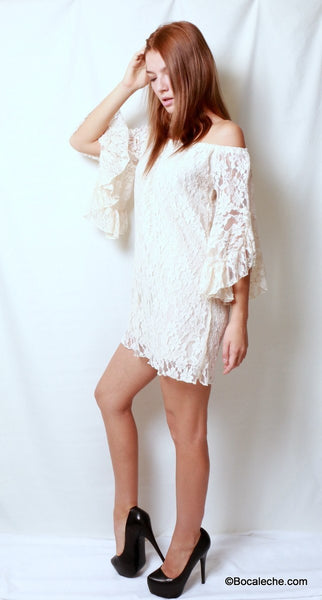 Gorgeous in Lace Dress - BOCALECHE - 4