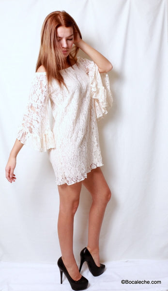 Gorgeous in Lace Dress - BOCALECHE - 5