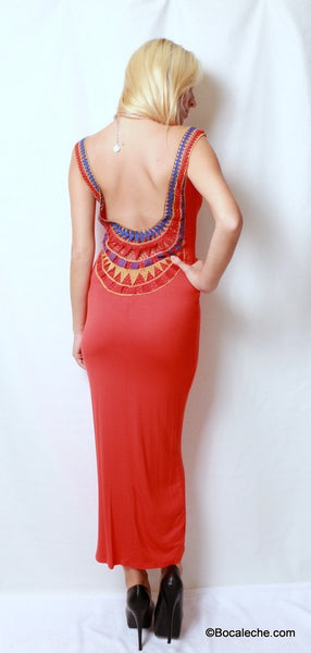 I heart You Maxi Dress - BOCALECHE - 4