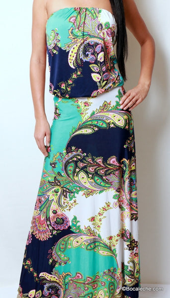 Island of Love Maxi Dress - BOCALECHE - 2