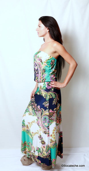 Island of Love Maxi Dress - BOCALECHE - 3