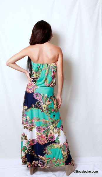 Island of Love Maxi Dress - BOCALECHE - 4