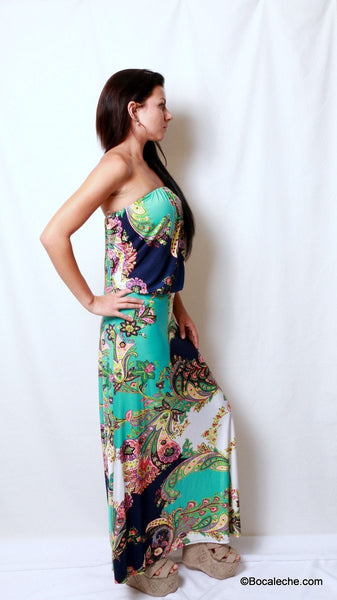 Island of Love Maxi Dress - BOCALECHE - 5