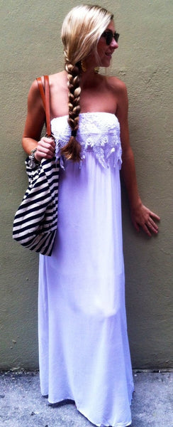 Mandi's Maxi dress - BOCALECHE - 1