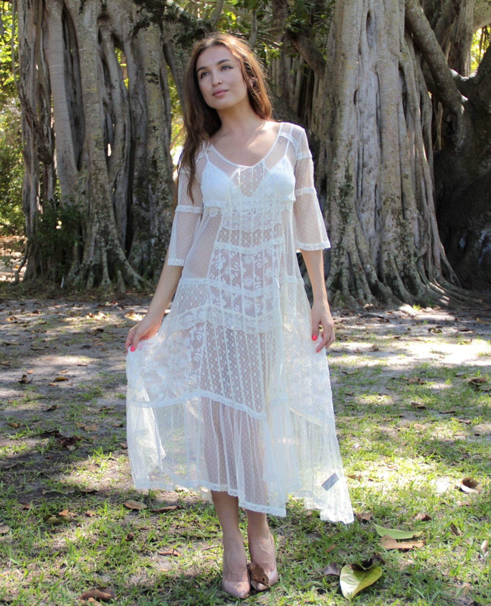 Not so Innocent Lace Dress - BOCALECHE - 1