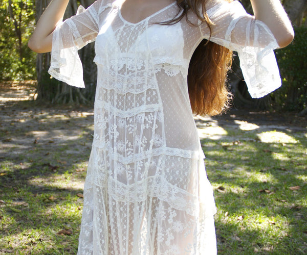 Not so Innocent Lace Dress - BOCALECHE - 2