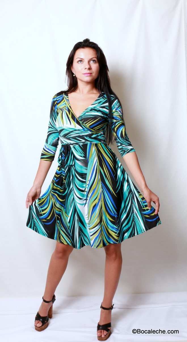 Palm Spring Dress - BOCALECHE - 1