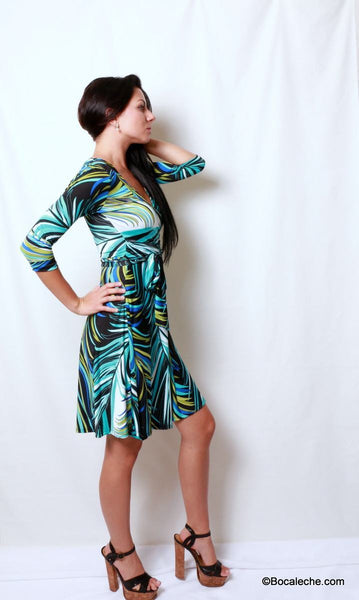 Palm Spring Dress - BOCALECHE - 4