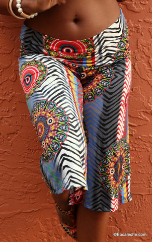 Red Owl Capri Pants
