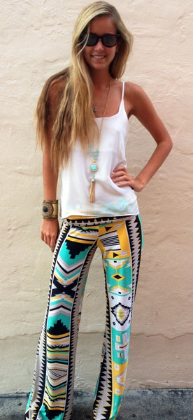 Walk Like An Egyptian Exuma Pants - BOCALECHE - 3