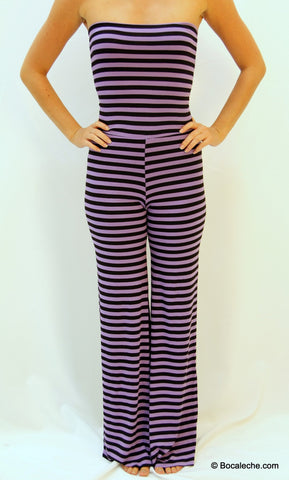 PLUM BAY STRIPED JUMPER