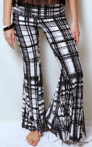 Perfect Lines Bell Bottom Pants - BOCALECHE - 2