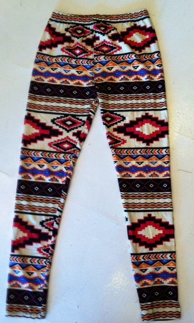 The Mini Tribal Girl Leggings - BOCALECHE