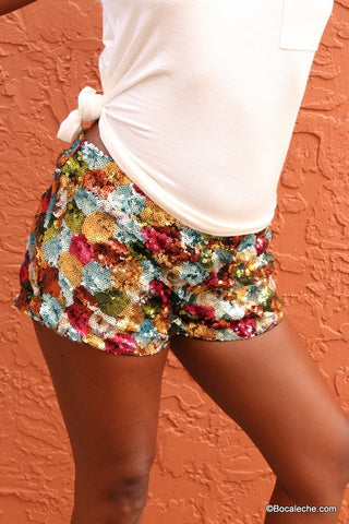 Studio 54 Sequin Shorts