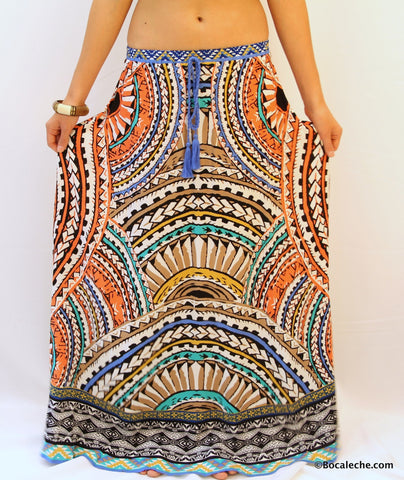Catalina Maxi Skirt