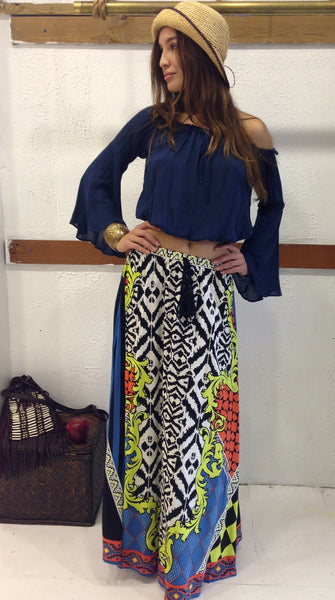 In the Limelight Maxi Skirt - BOCALECHE - 1