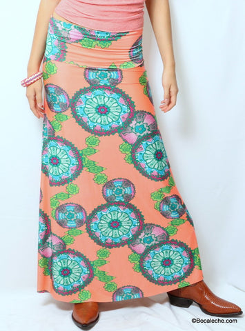 Lava Lake Lily Pad Exuma Skirt