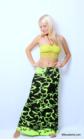 Lime Power Exuma Skirt