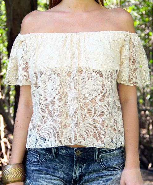 Lacy Macy Top - BOCALECHE - 2