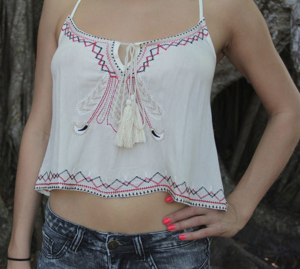 Sandy Desert Crop Top - BOCALECHE - 5