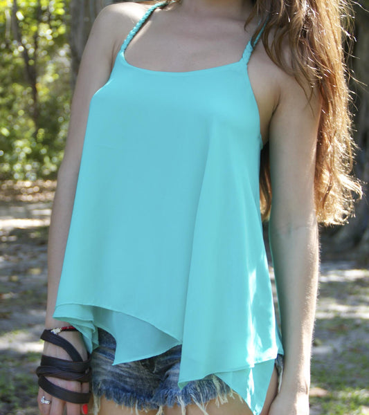 Tie a Knot Flowy Top - BOCALECHE - 5
