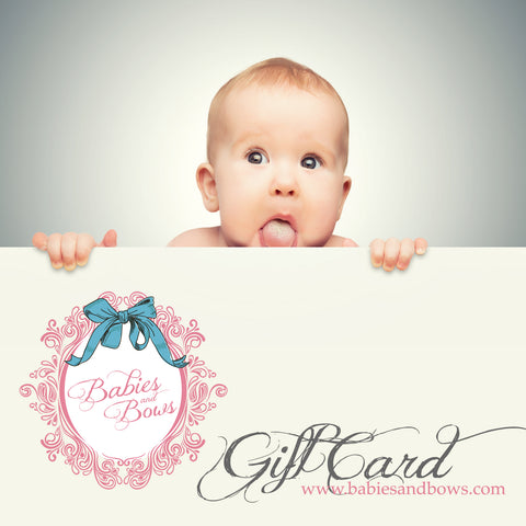 What to give a one year old for their birthday babies and bows 4 personalized gifts negle Gallery