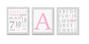 Personalized Birth Announcement Sets - Pink