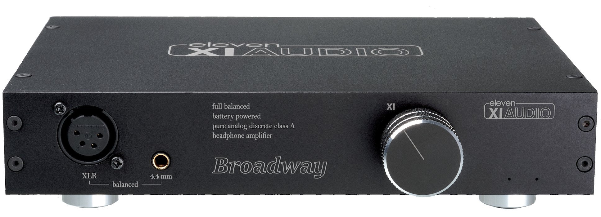 Broadway by Eleven Audio XIAUDIO Fully Balanced Battery Headphone Amplifier