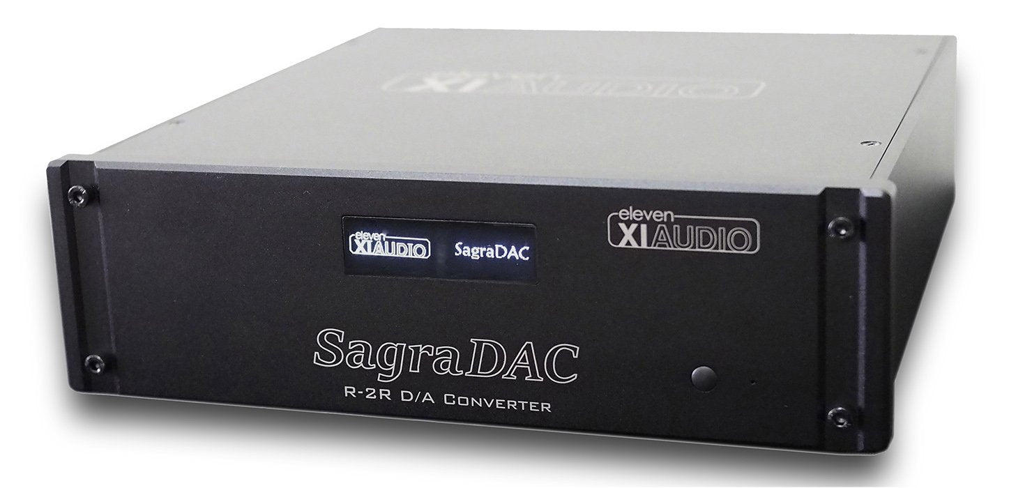 NEW! Eleven Audio XIAUDIO Sagra DAC High Performance D/A Converter