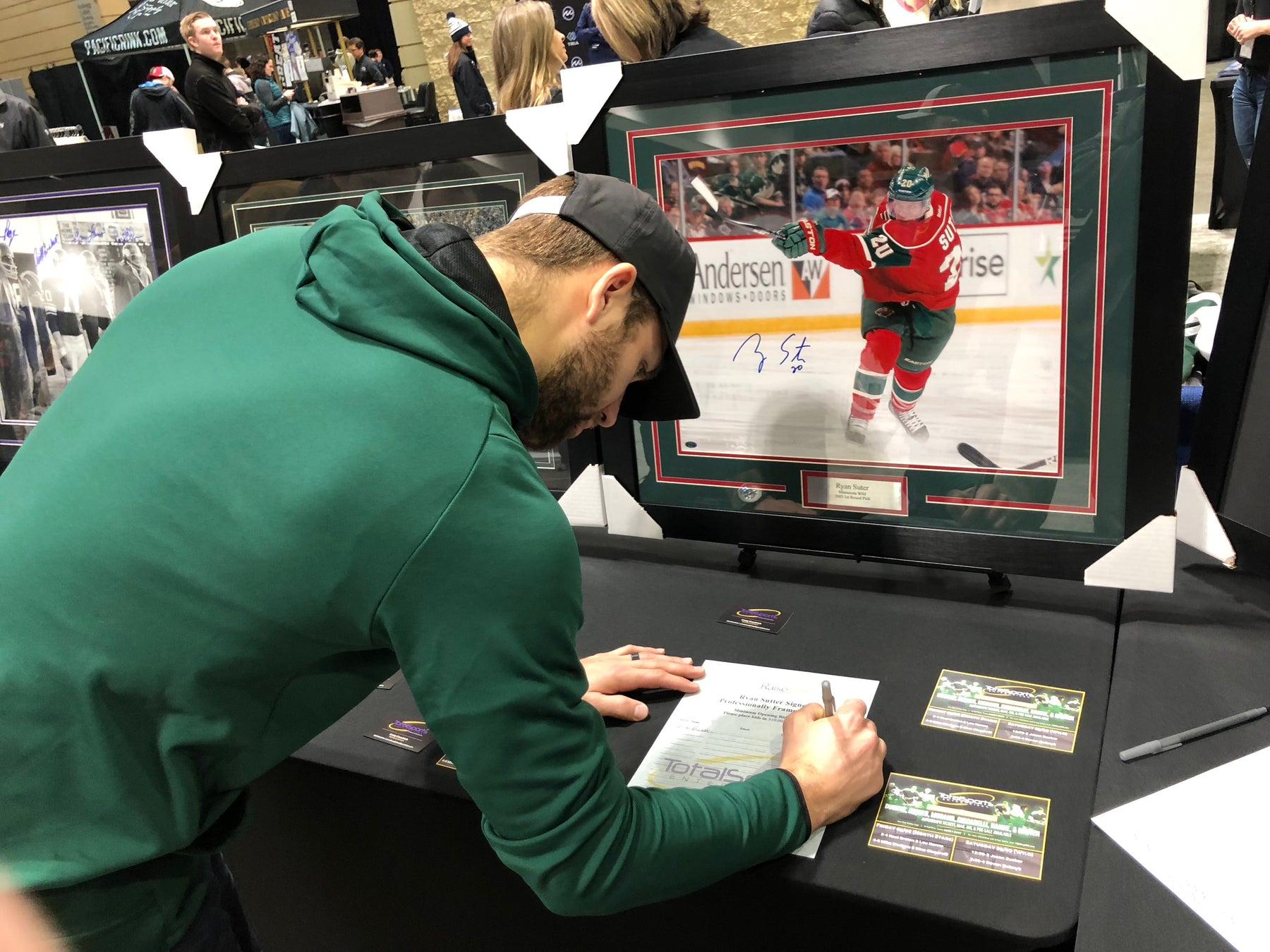 Auction For Jason Zucker's Foundation!