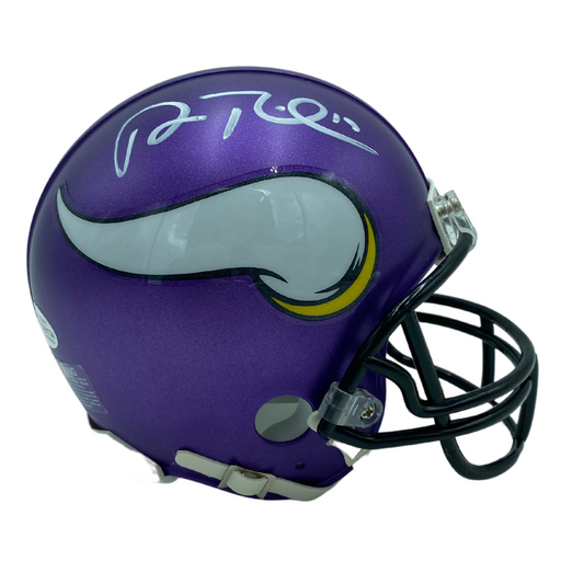 Adam Thielen Signed Minnesota Vikings Mini Helmet