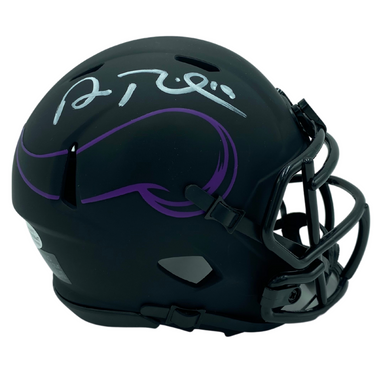 Adam Thielen Signed Minnesota Vikings Eclipse Mini Helmet