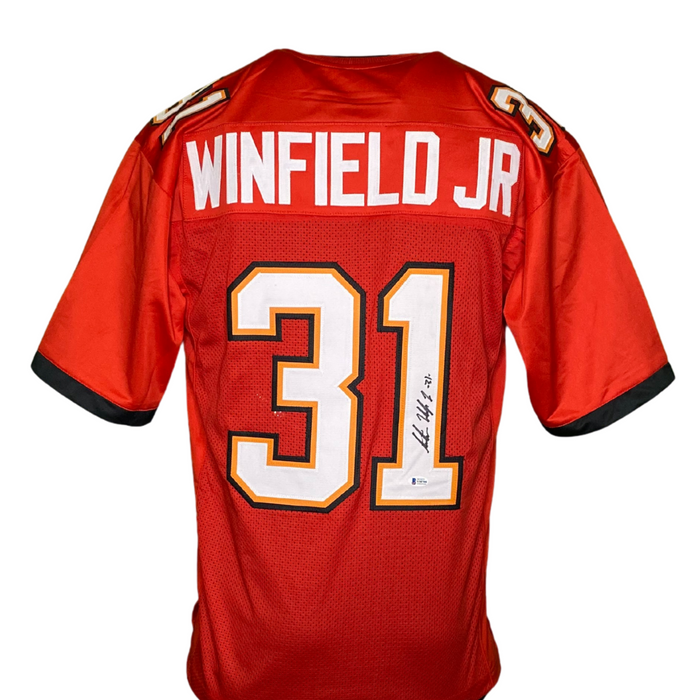 Antoine Winfield Jr Signed Custom Tampa Bay Football Jersey
