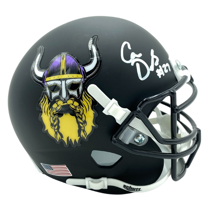 Cameron Dantzler Signed Viking Beard Mini Helmet