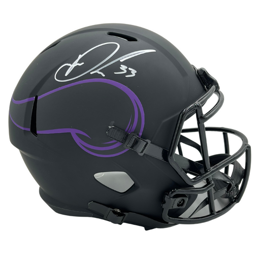 Dalvin Cook Autographed Vikings Full Size Eclipse Replica Helmet