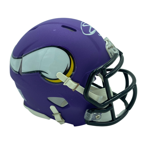 Eric Kendricks Signed Minnesota Vikings Purple SPEED Mini Helmet